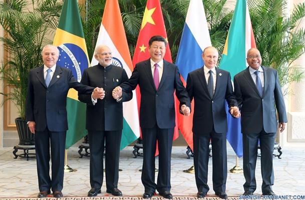 (Cumbre G20) Presidente chino pide esfuerzos de BRICS