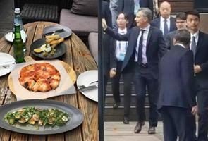Presidente argentino prueba sabor chino con su esposa en Hangzhou