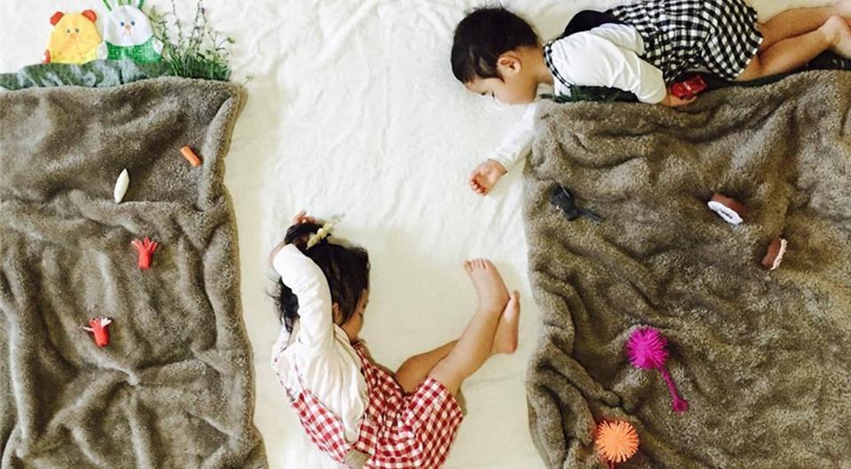Las fotos más acogedoras tomadas por una mamá cuando los niños duermen