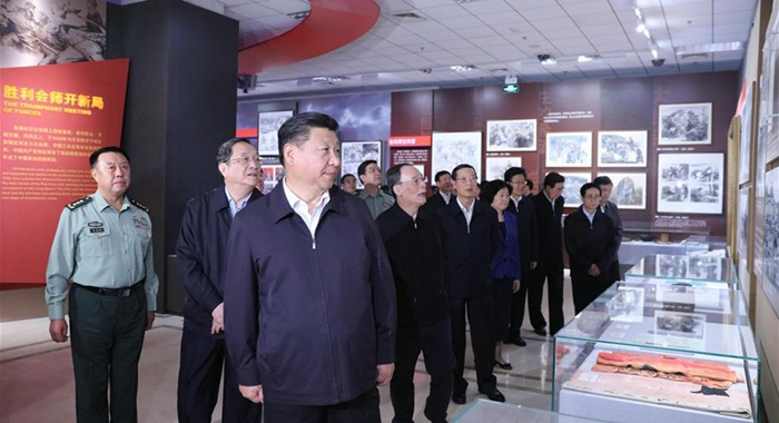 Presidente chino evoca espíritu de Gran Marcha para revitalización nacional