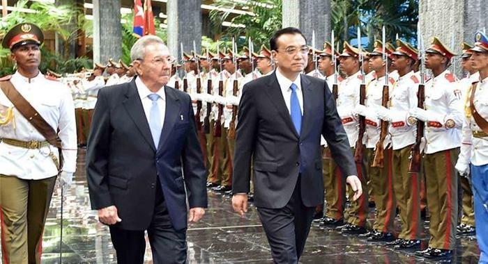 China promete promover aún más los lazos bilaterales con Cuba