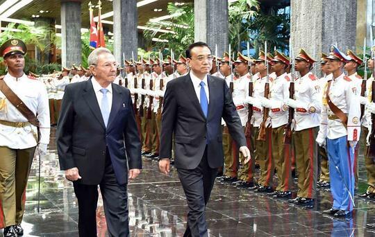Li Keqiang a Cuba: amigos en las malas, las buenas y las mejores