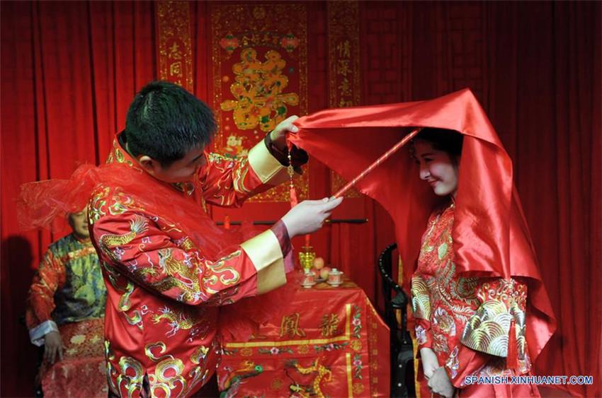 Matrimonio In Spanish : Tradicional ceremonia de boda china spanish ina