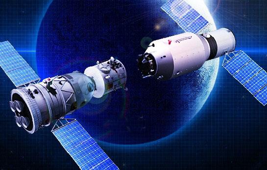 Transmisión de video: Acoplamiento del laboratorio espacial chino Tiangong-2 con nave espacial tripulada Shenzhou-11
