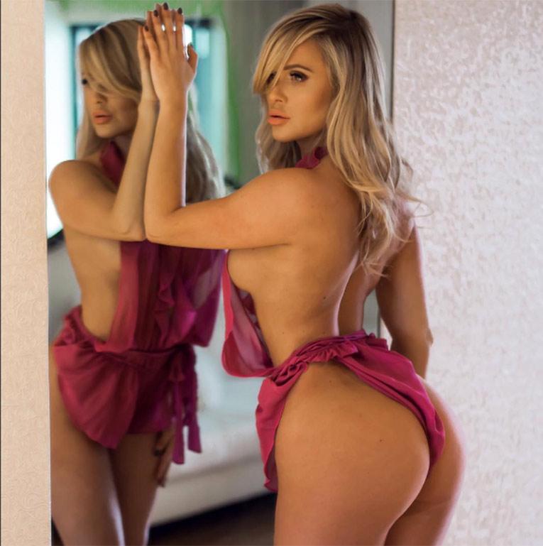 Las fotos más sensuales de la modelo de Playboy, Katie May