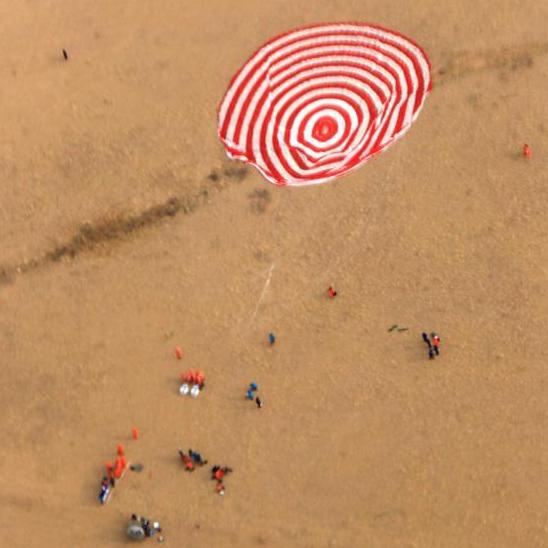 Cápsula de retorno de Shenzhou-11 aterriza con éxito