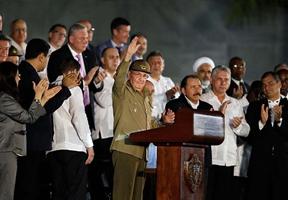 Honras fúnebres para el líder cubano Fidel Castro en La Habana