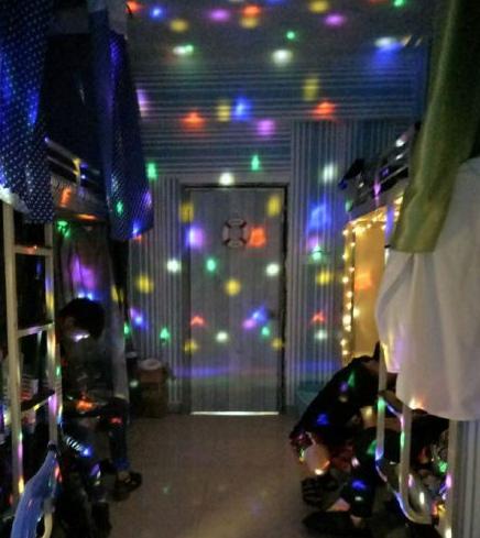 ¿Puedes creer que sea el dormitorio de un chico?