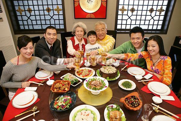 La cena de Año Nuevo chino