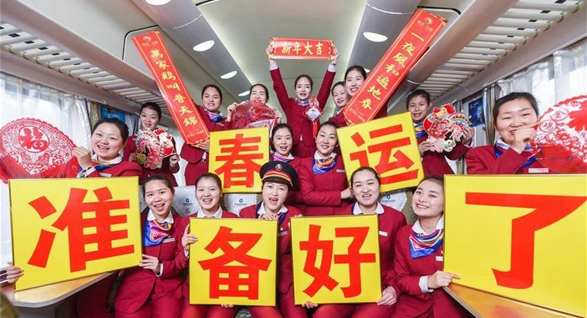 Pico de viajes llega cuando los chinos regresan a casa para Fiesta de Primavera