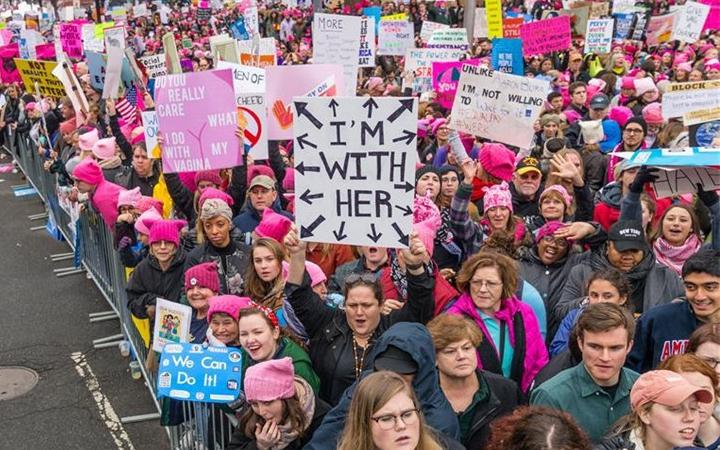 'Marcha de las Mujeres' en Washington D.C.