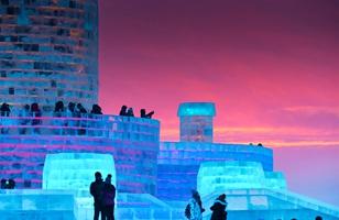 El Parque del Hielo y la Nieve de Harbin