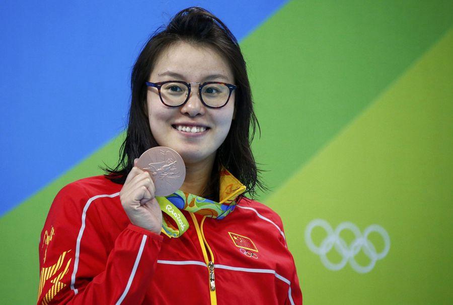 Fu Yuanhui quiere ser una deportista más que una estrella