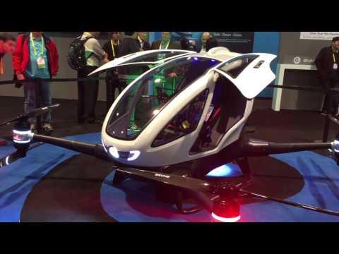 Presentan en Dubai el primer coche volador