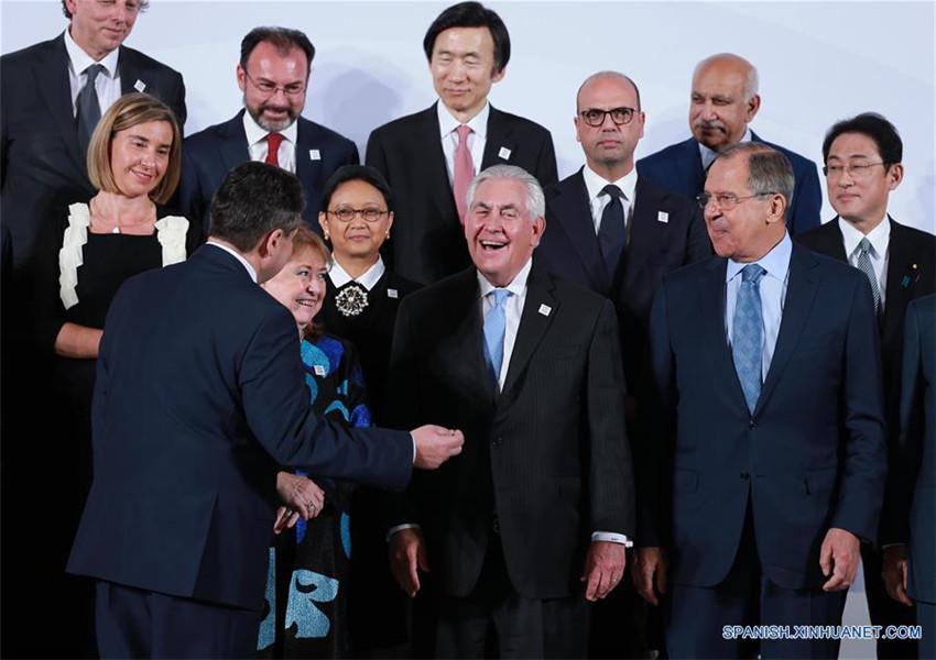 Ministros de Relaciones Exteriores de G20 analizan asuntos internacionales en Alemania