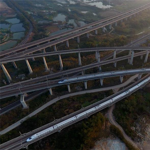 Guangxi construirá más de 2,000 km de líneas de carril de alta velocidad