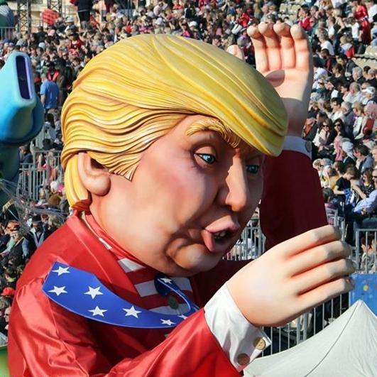 El 133 Carnaval de Niza en la ciudad de Niza, Francia