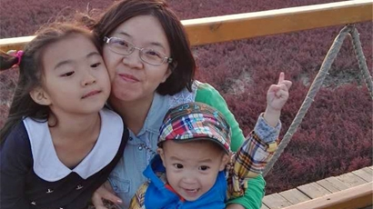 La felicidad de tener dos hijos supera todos los problemas