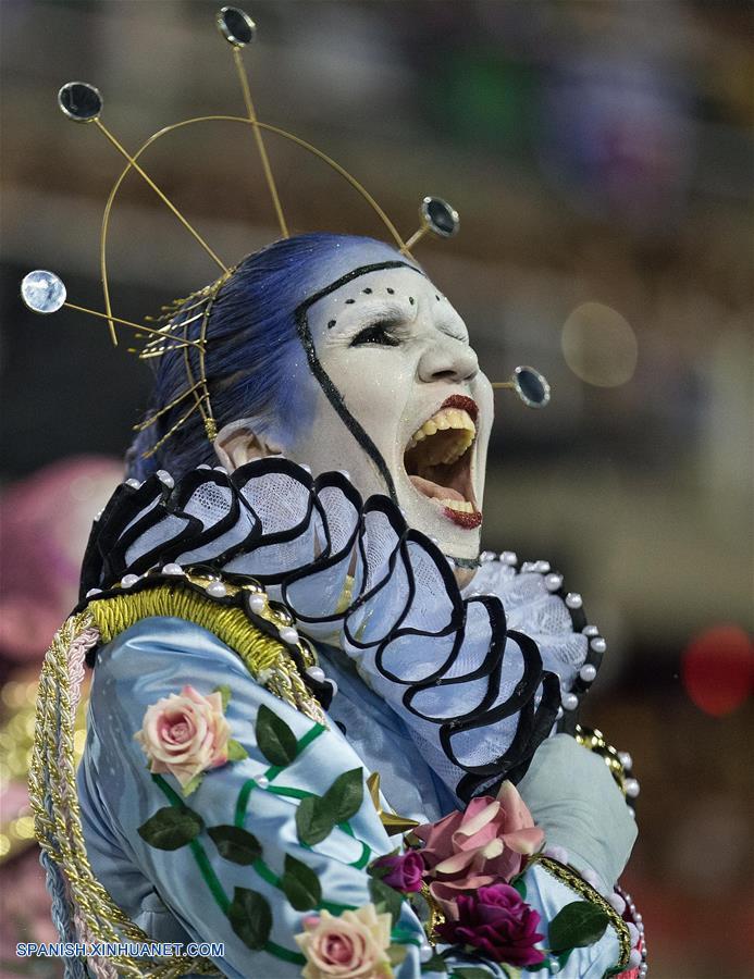 Carnaval de Brasil: Grupos especiales de escuelas de samba concluyen sus desfiles