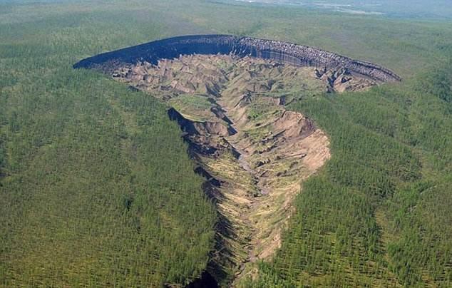 el gigantesco cráter de Siberia que sigue creciendo y revela cómo era la Tierra hace 200.000 años