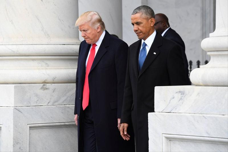 Trump pide al Congreso investigar a Obama por espionaje