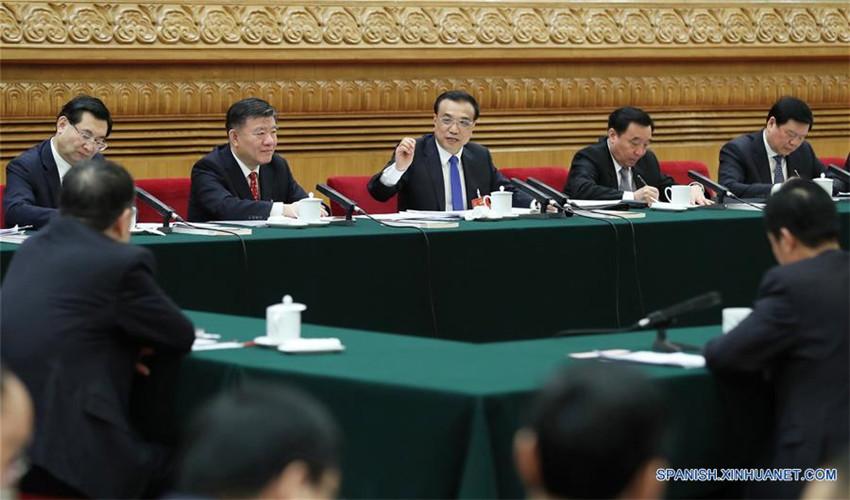 Líderes chinos analizan con legisladores economía y Franja y Ruta