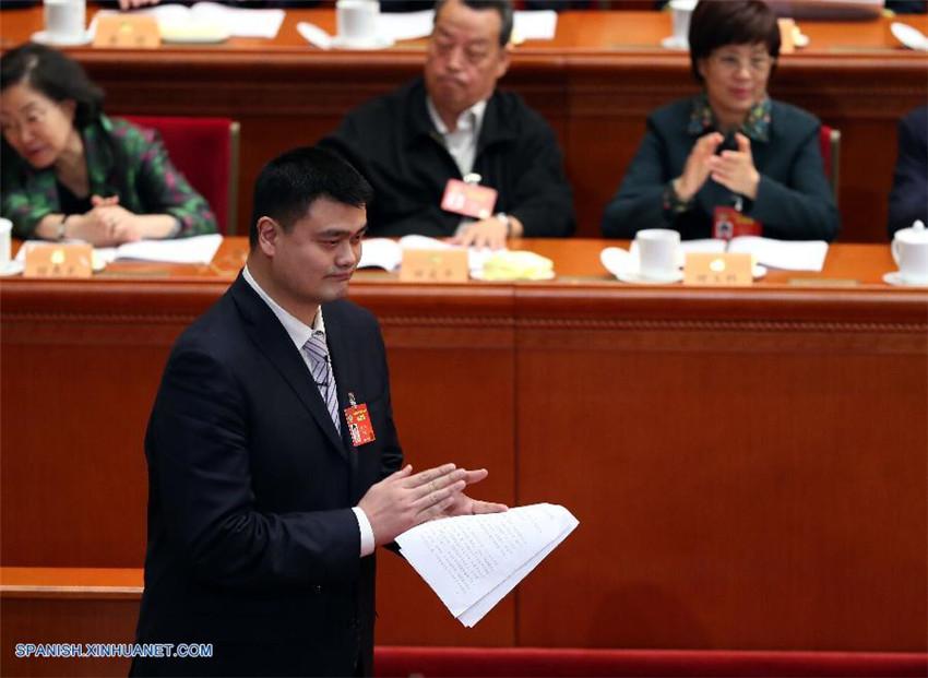 Yao Ming: Industria deportiva china necesita más que inversiones