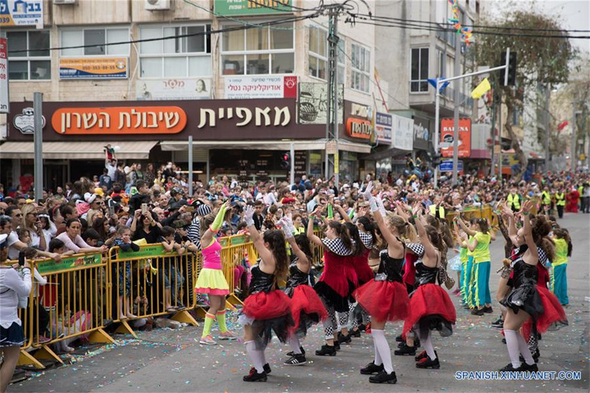 Desfile de Purim en Jolón, Israel