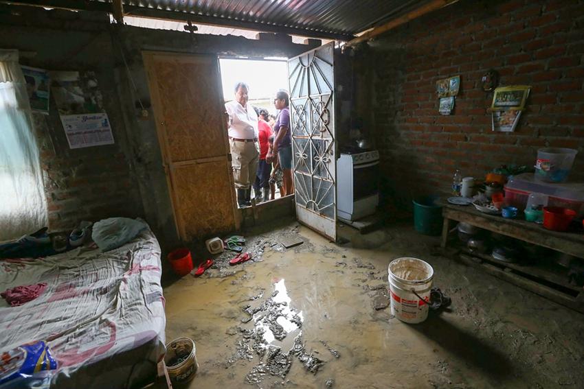 Pérdidas y destrucción dejadas por las fuertes lluvias en Perú5