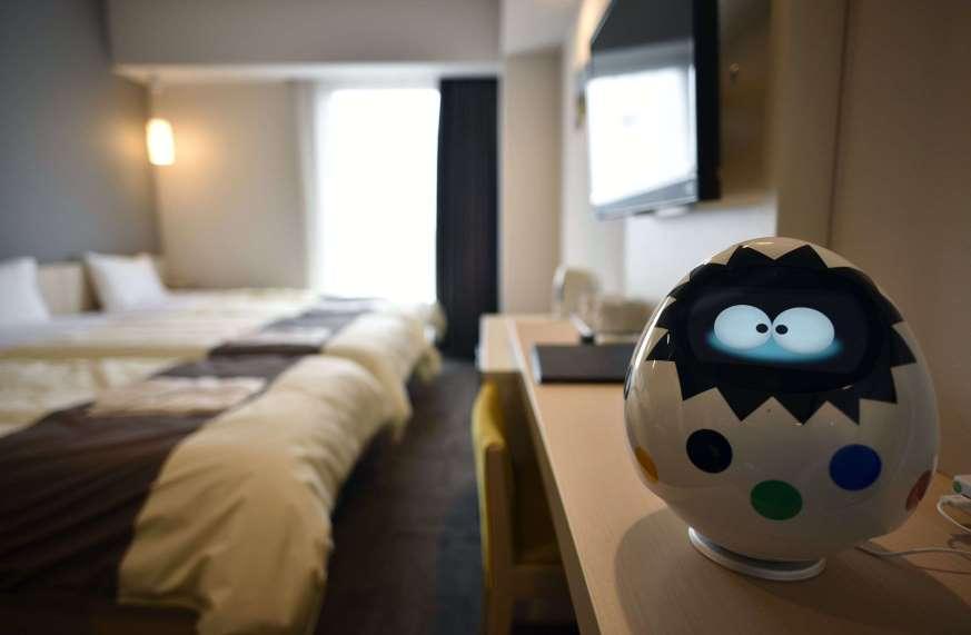 Un hotel operado en su totalidad por robots