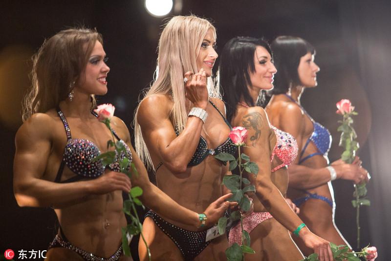 Mujeres rusas apasionadas por el gimnasio muestran sus figuras perfectas1