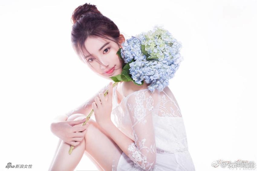 Actriz china Meng Ziyi, nueva estrella en la pantalla3