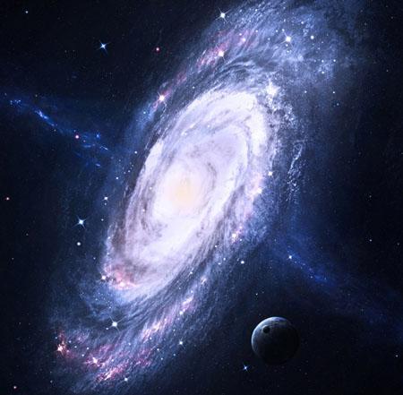 Ondas gravitacionales expulsan agujero negro de centro de galaxia: NASA