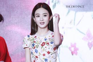 Se revelan nuevas fotos de la actriz china Zhao Liying