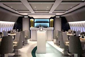 La vuelta al mundo en un avión-hotel