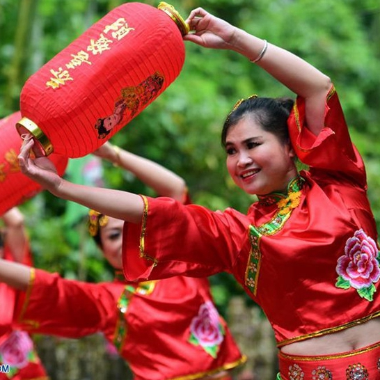 Hainan: Celebración de Festival Sanyuesan