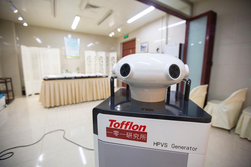 Nuevos y poco conocidos: robots que trabajan en China6