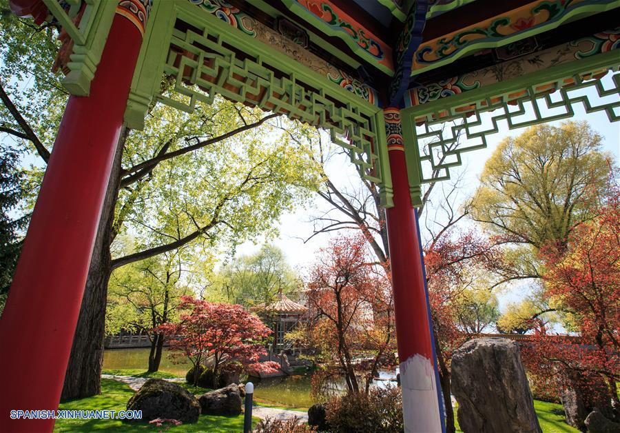 Suiza: Jardín Chino en Zúrich