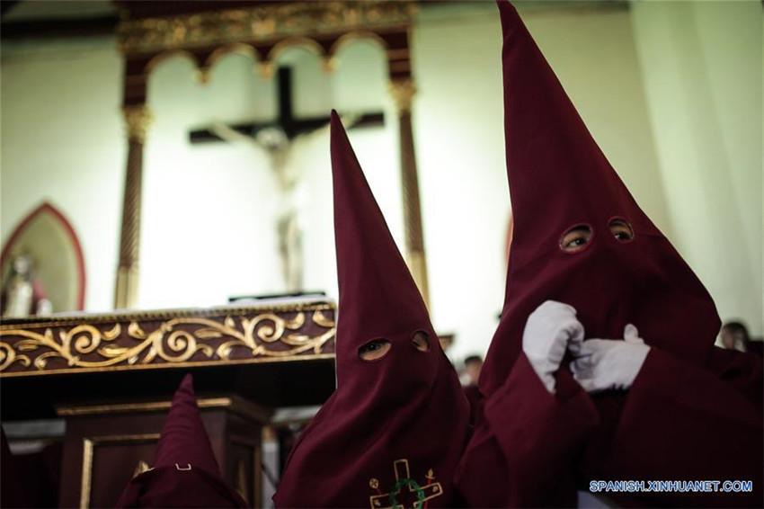 Procesión del Jueves Santo en Colombia