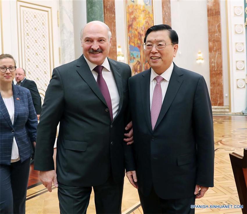 China promete cimentar asociación estratégica integral con Bielorrusia