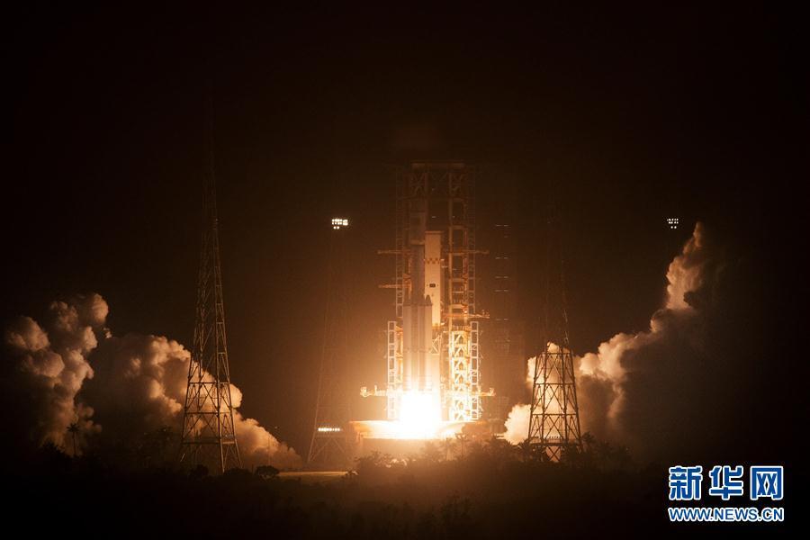 Primera nave de carga impulsa sueño espacial de China 1