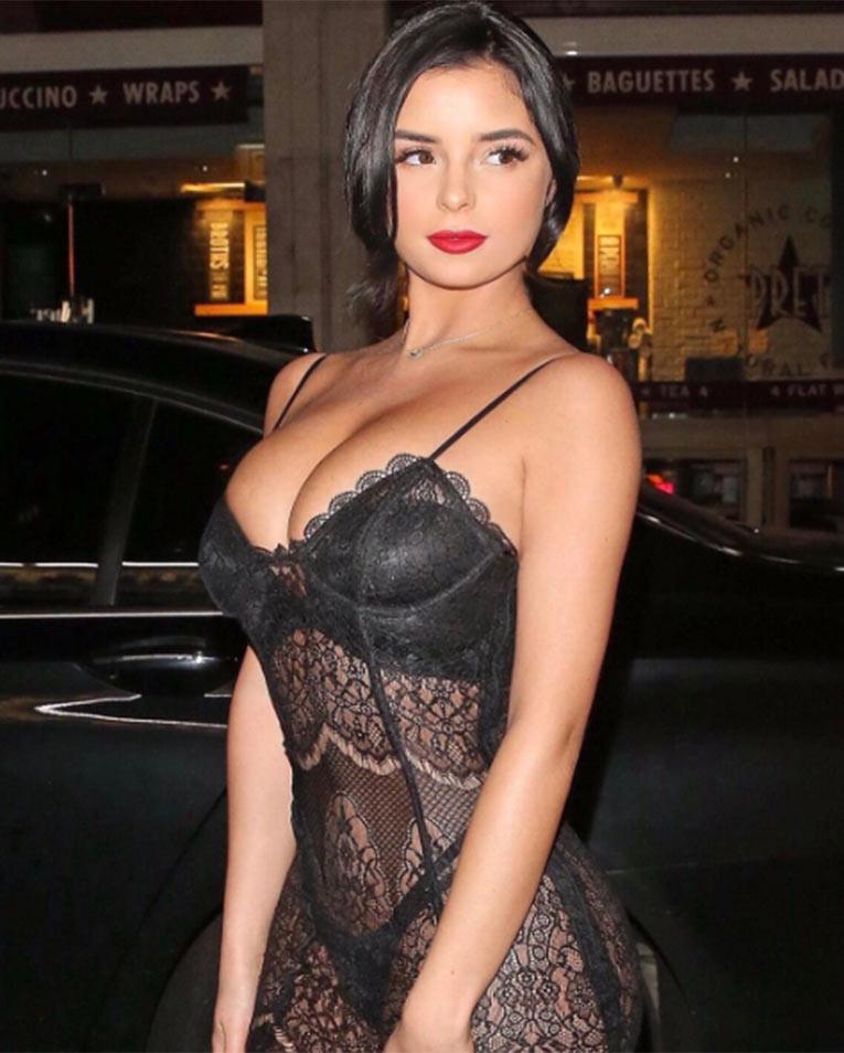 La modelo británica Demi Rose Mawby, la doble de Selena Gomez que incendia Instagram