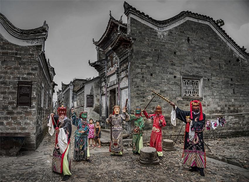 La belleza de los pueblos tradicionales chinos