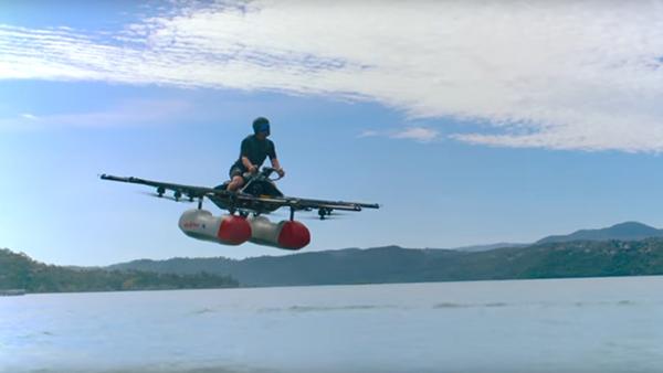 Sale a la venta el coche volador Kitty Hawk Flyer