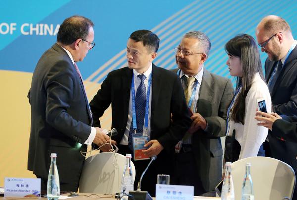 Macri firmó acuerdos económicos con su par chino