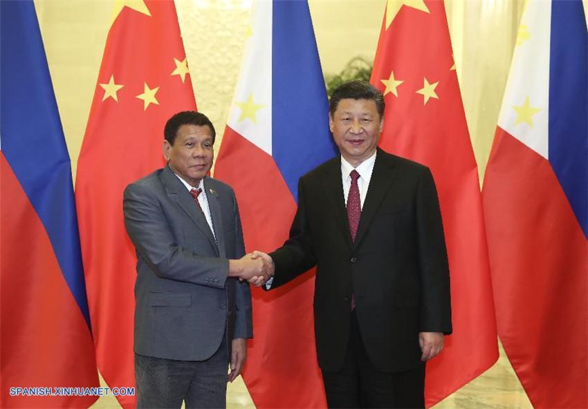 Xi Jinping pide alinear estrategias de desarrollo de China y Filipinas