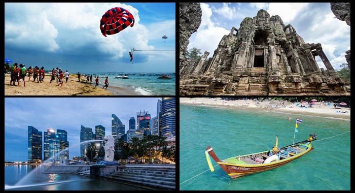 Los 10 países de la Franja y la Ruta más visitados por los turistas chinos