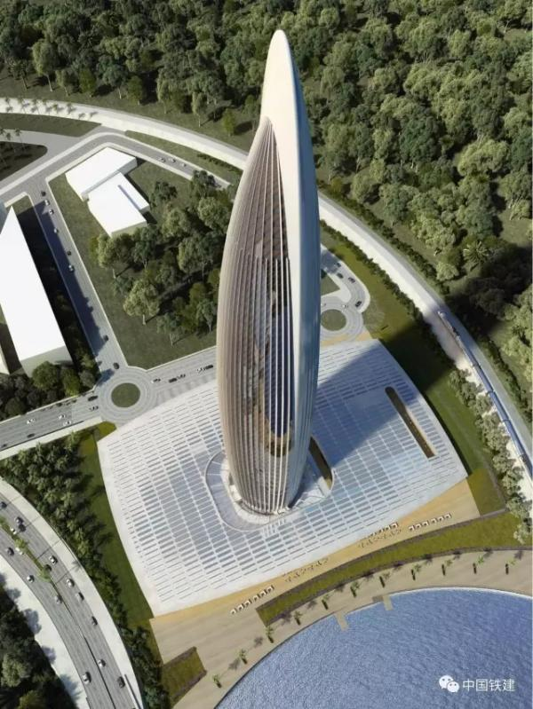 Compañía china construirá el edificio más alto de África2