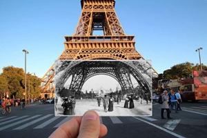En imágenes: el pasado y el presente de París