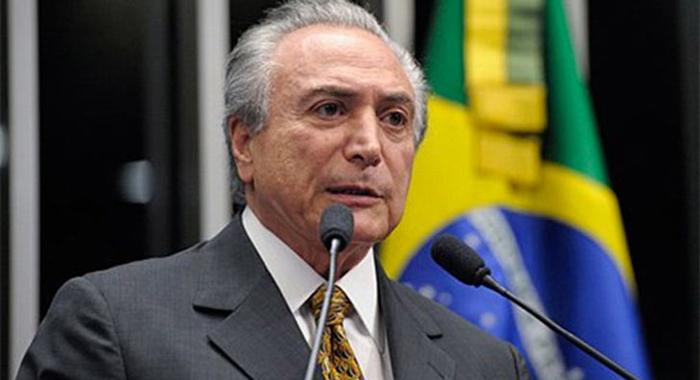 Fiscalía acusa al presidente Temer de obstrucción a la justicia — Brasil